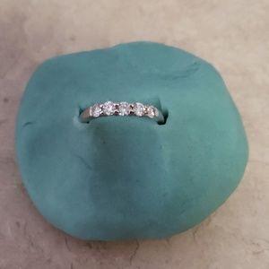 5 stone 1/2 ct diamond ring